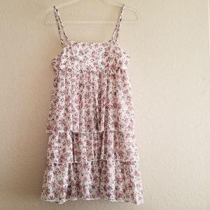 Hazel Floral Tiered Dress